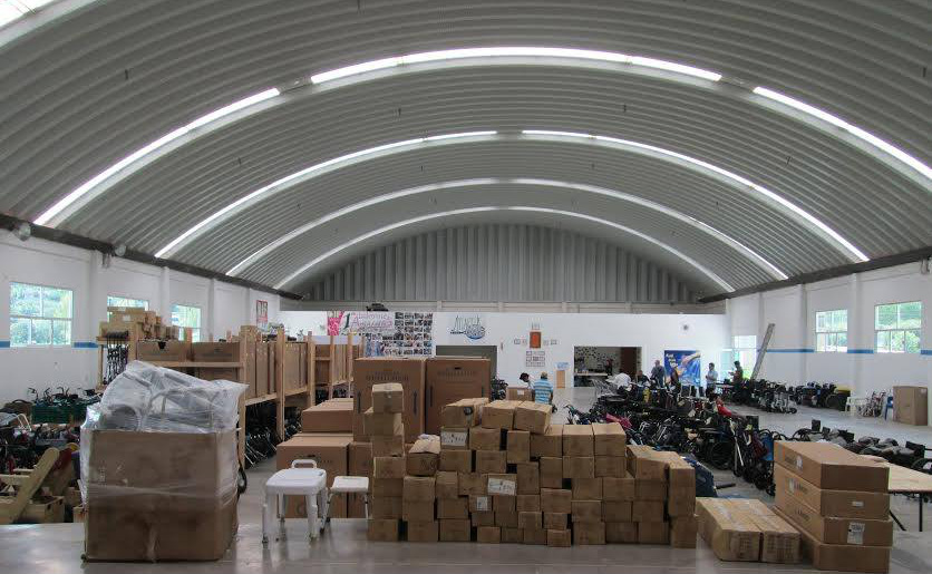 World Access Project's warehouse and center in Mexico