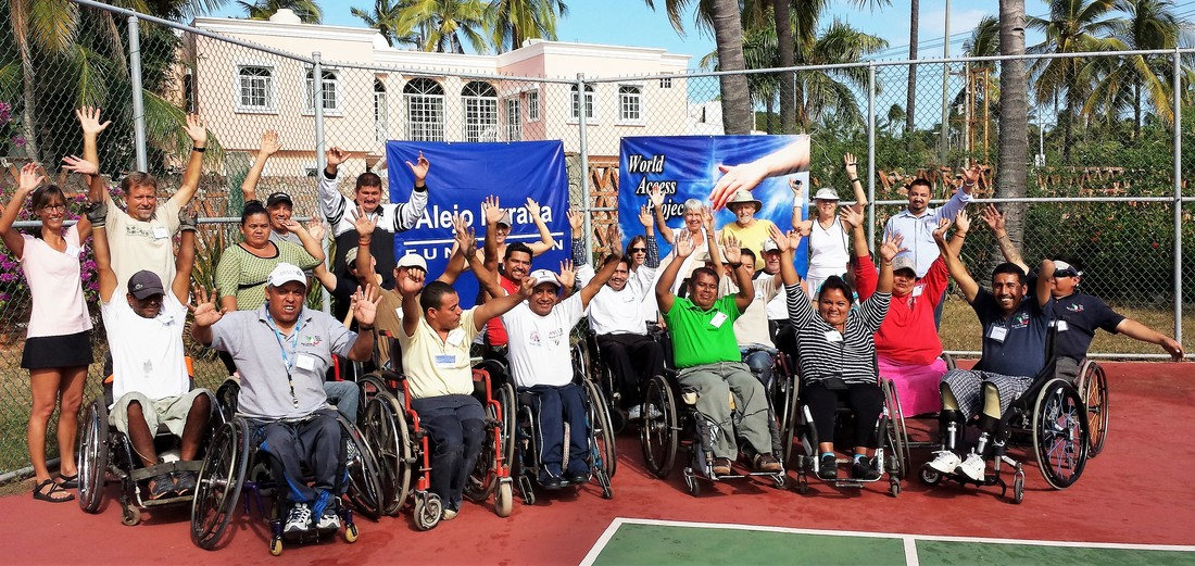 world access projects changes lives with donated wheelchairs